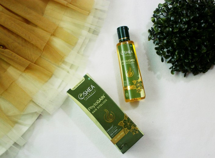 Oshea Herbals Phytogain Hair Vitalizer Review