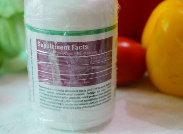 Zenith Nutrition Resveratrol Capsules Review