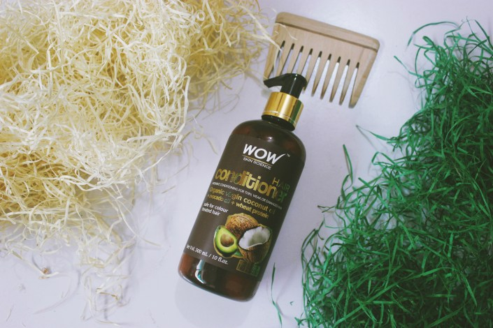 WOW Hair Conditioner Infused with Organic Virgin Coconut Oil Review