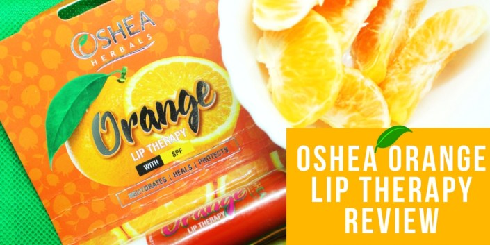 Oshea Orange Lip Therapy Review