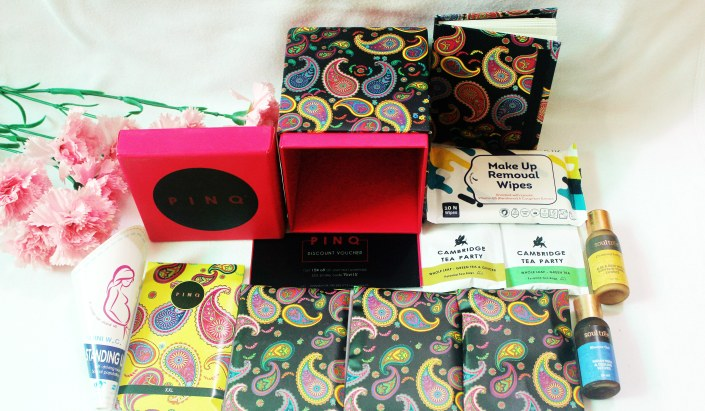 PINQ Best Monthly Period Box Subscription Box Review