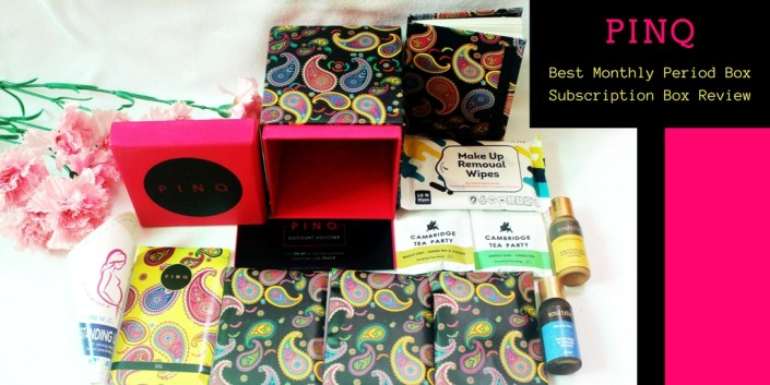 PINQ: Best Monthly Period Subscription Box Review