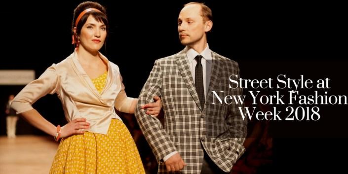 Street Style at New York Fashion Week 2018