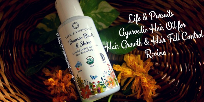 Life & Pursuits Ayurvedic Hair Oil for Hair Growth & Hair Fall Control Review