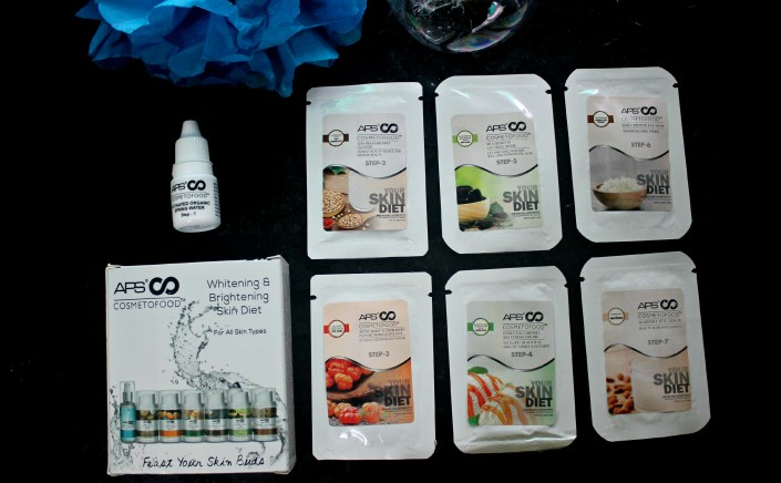 APS Cosmetofood Whitening & Brightening Skin Diet Review