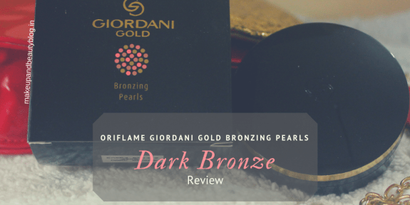 Oriflame Giordani Gold Bronzing Pearls -Dark Bronze Review