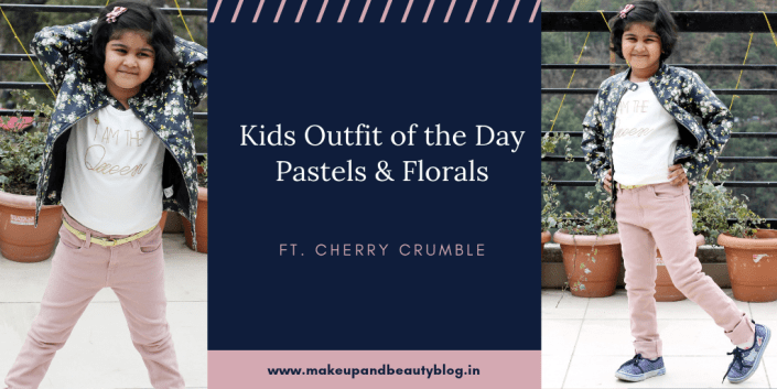 Kids Outfit of the Day: Pastels & Florals ft. Cherry Crumble