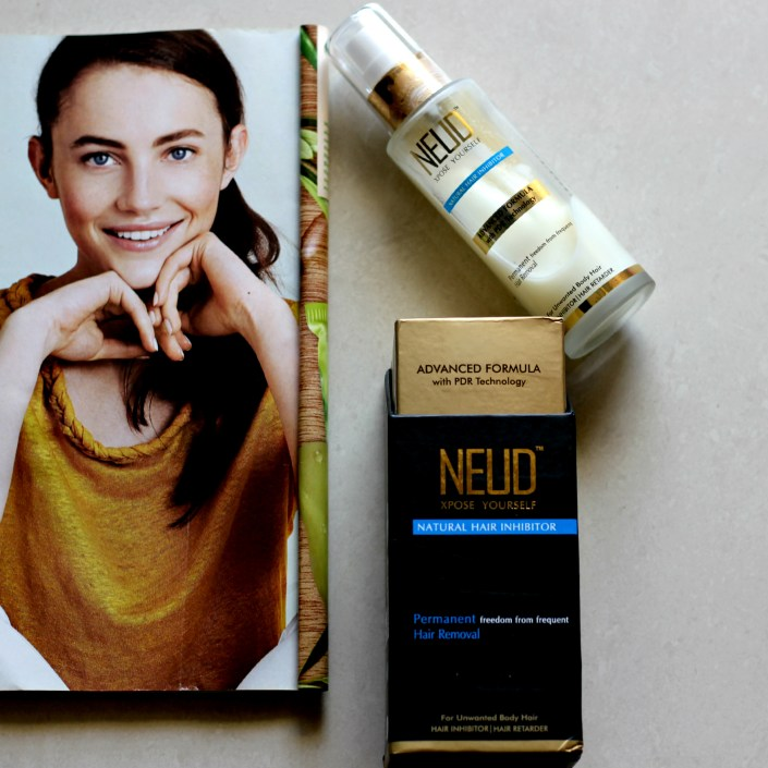 NEUD Xpose Yourself Natural Hair Inhibitor Review