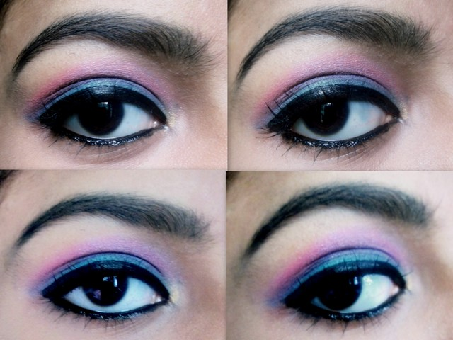 Teal Green And Bright Pink Eye Makeup Tutorial Mabh Blog