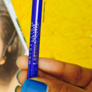 Maybelline Eyestudio Lasting Drama Waterproof Gel Pencil in Lustrous Sapphire