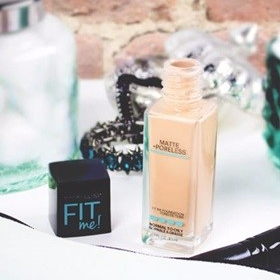 Maybelline Fit Me Matte + Poreless Foundation, shade - 310 Sun Beige review