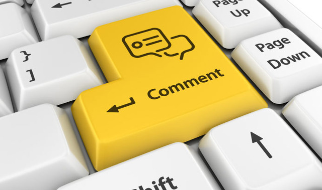 rules of blog comments