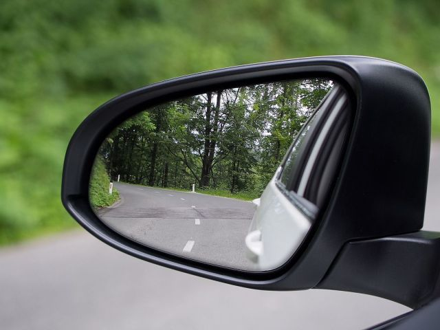 LIFE is not about looking Backward and driving Forward…