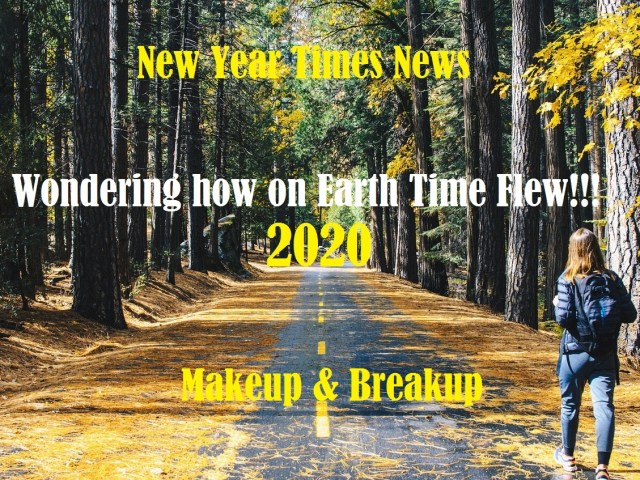 Wondering how on Earth Time Flew – New Year Times News
