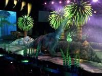 The T-Rex spots its pray