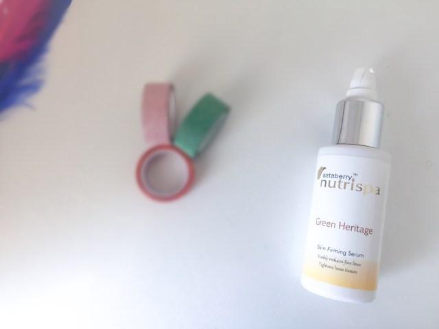 Nutrispa Green Heritage Skin firming serum