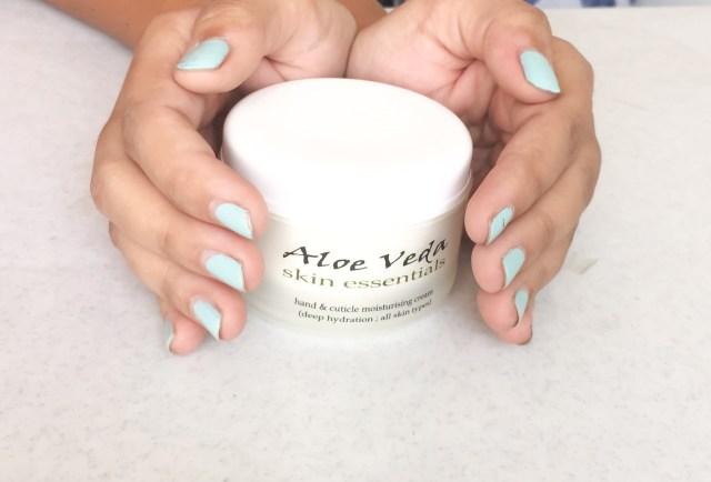 hand & cuticle moisturising cream