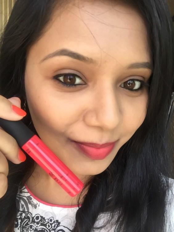 Body Shop matte lip liquid