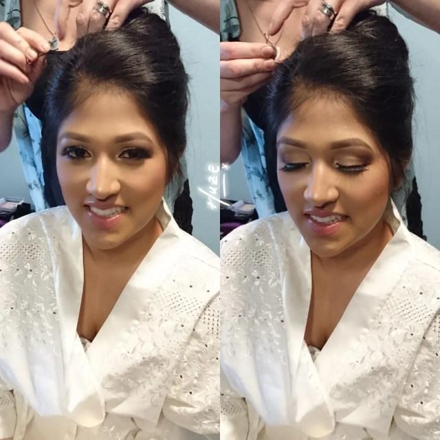 bridal makeup artist north west - huze makeovers