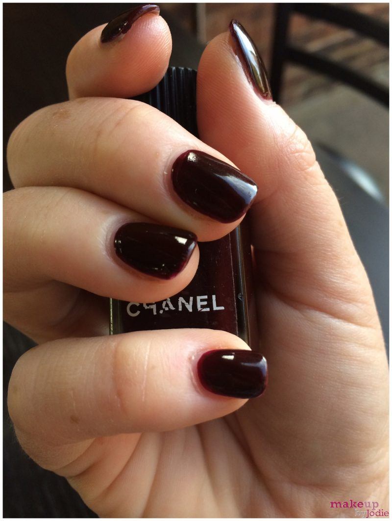 New Nail Alert Chanel Rouge Noir Makeup By Jodie