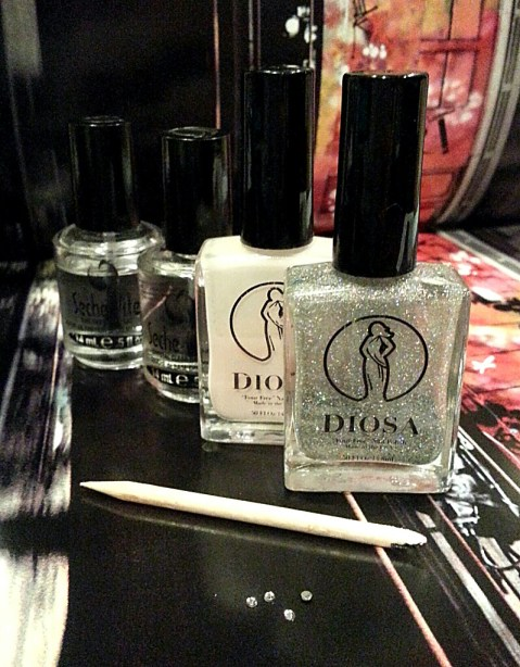 New Years Eve Party Nails Diosa Nails & Polish