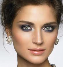 Wedding Wednesday Blue Smoky Eye