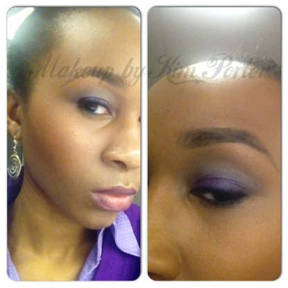 Tutorial Tuesday Purple Grey Smoky Eye
