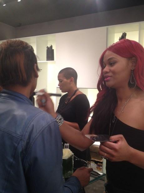 AJ Crimson Beauty Balm Launch Event Makeup by Lerenda
