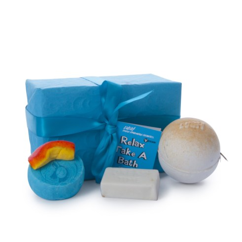 LUSH Relax- Take a Bath Open