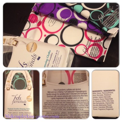 FDS Perfectly Portable Cleansing Cloths Makeup by Kim Porter