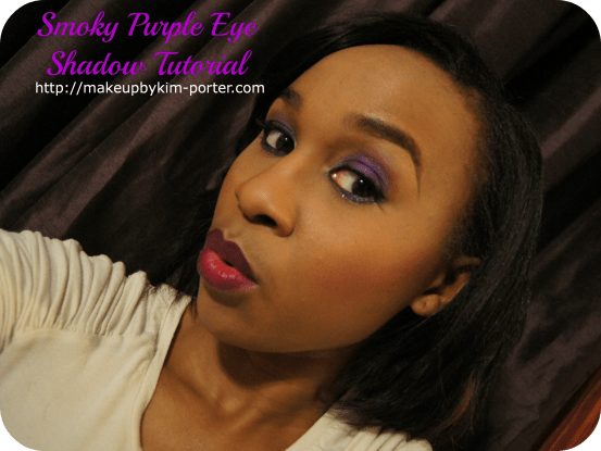 Purple Smoky Eye shadow Tutorial