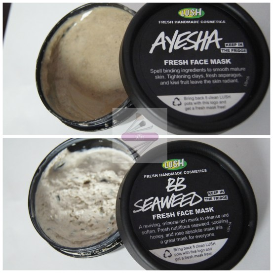 LUSH Fresh Face Mask
