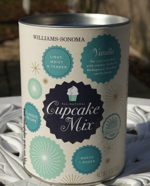 December 2014 POPSUGAR Must Have Box Wiilliams Sonoma Vanilla Bean Cupcake Mix