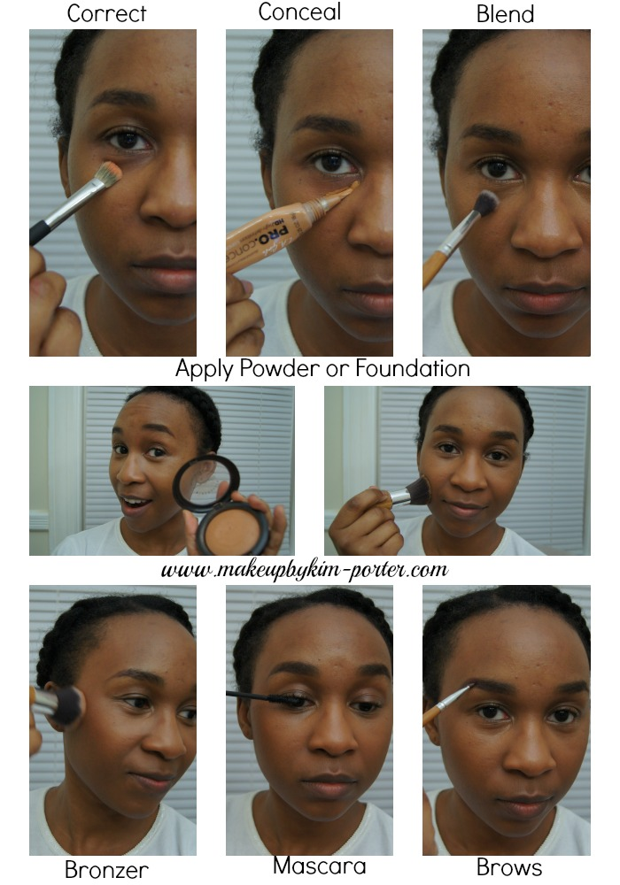 Create a Flawless Face in ten minutes or less _Pictorial