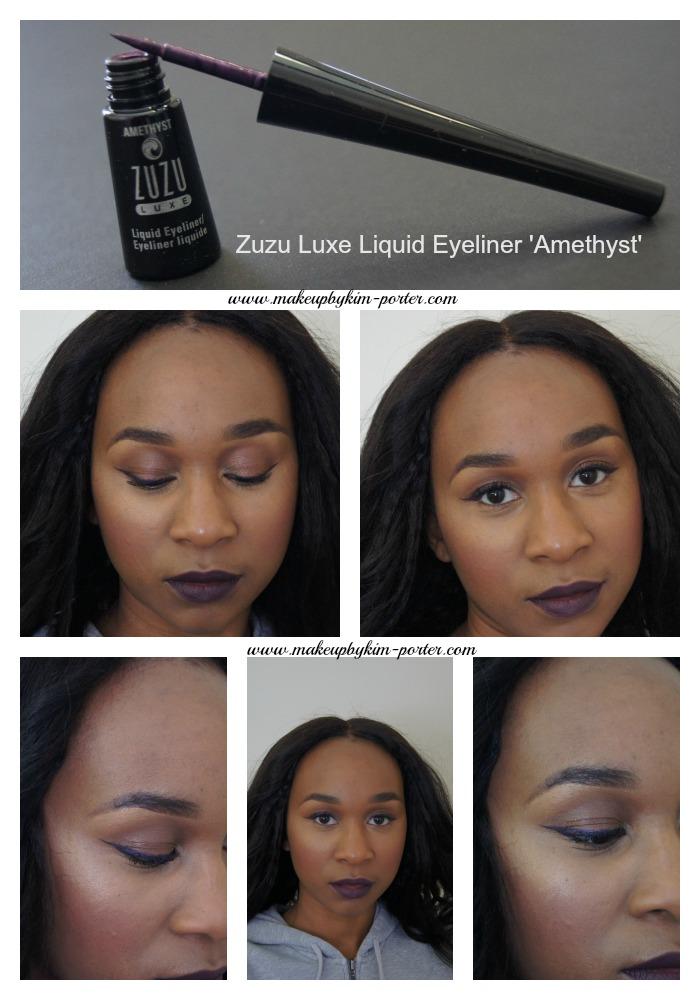 Zuzu Luxe Liquid Eyeliner Look