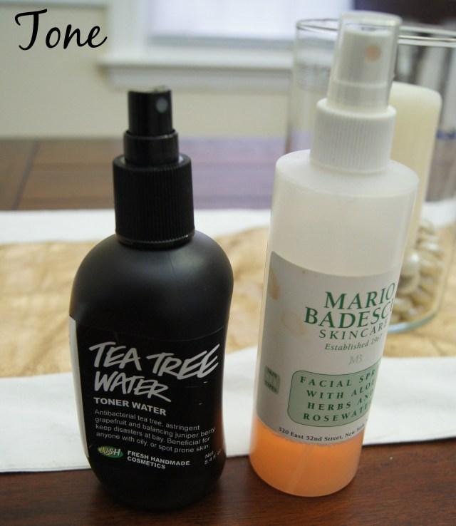 Spring Skincare Routine Toner