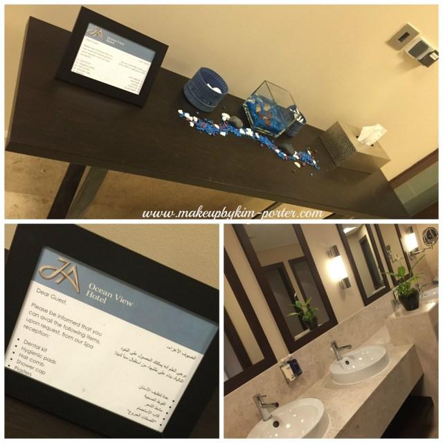 JA Ocean View Hotel Calm Spa Locker Room