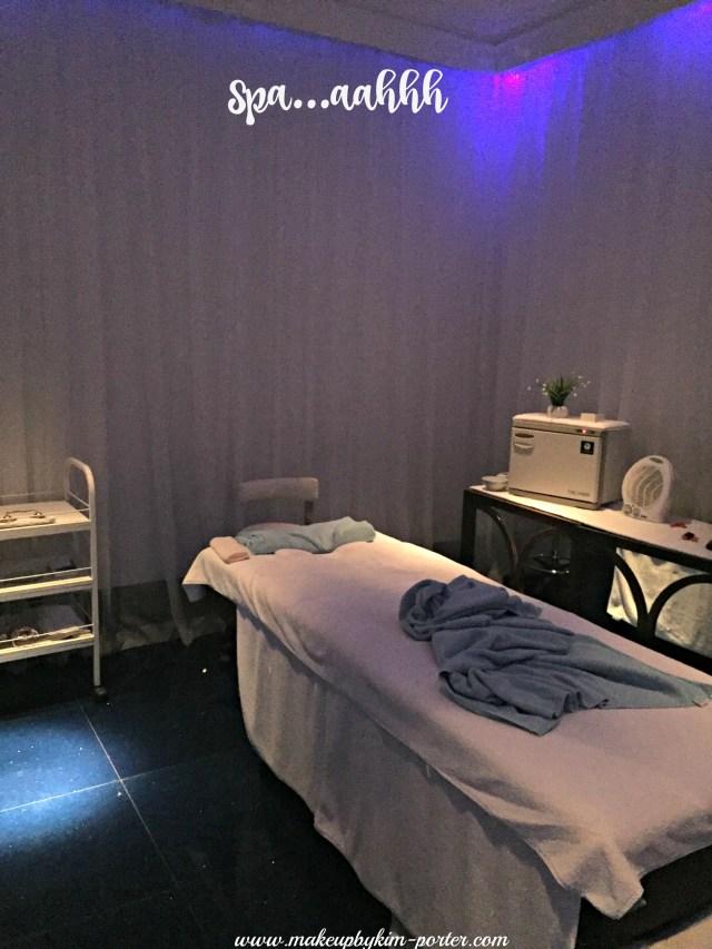 JA Ocean View Hotel Calm Spa Treatment Room