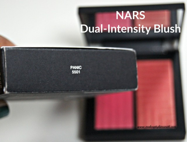 NARS DUal-Intensity Blush Panic Packaging