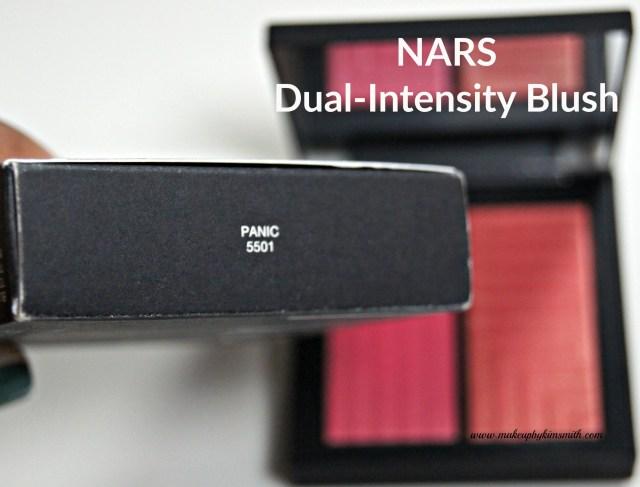 NARS DUal-Intensity Blush Panic Packaging