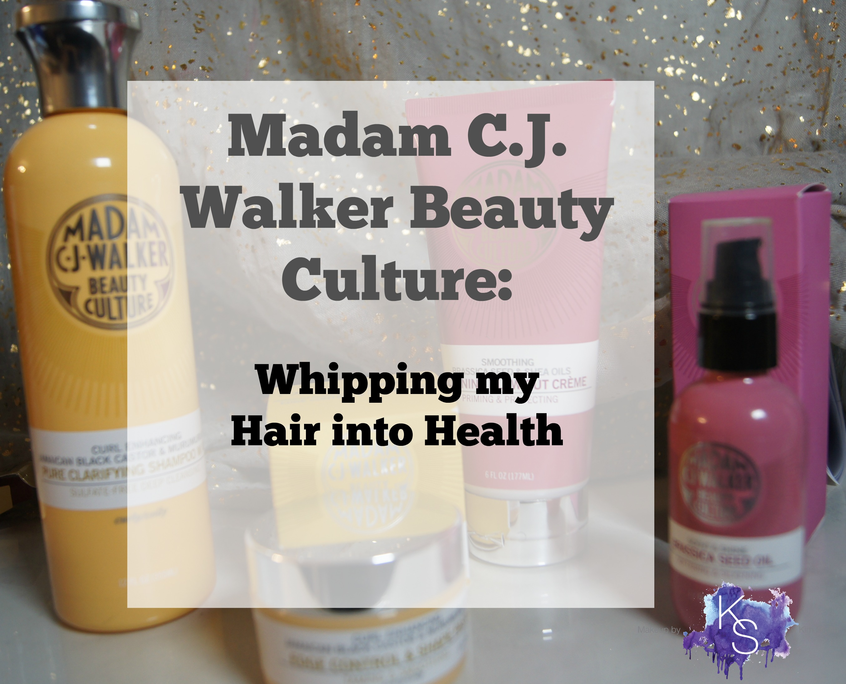 Madam C J Walker Beauty Culture For Curly And Coily Hair