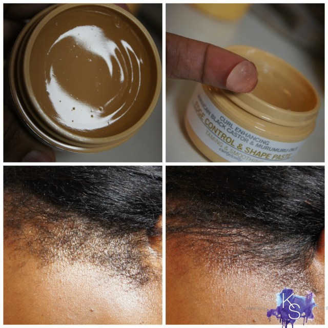 Madam C.J. Walker Beauty Culture Jamaican Black Castor & Murumuru Oil Edge Control