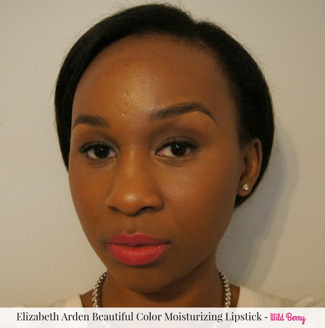 Elizabeth Arden's Beautiful Color Moisturizing Lipstick Wild Berry