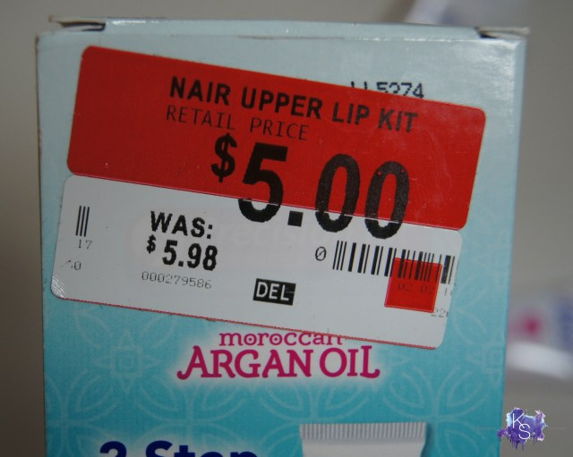 Nair™ Moroccan Argan Oil Precision Kit for Face and Upper Lip
