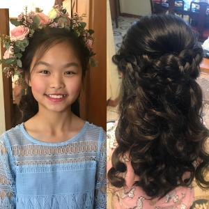 Flowergirl for Cantonese wedding