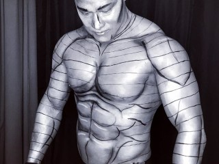 Sydney makeup artist, Sydney body painter, Halloween makeup, Sydney halloween makeup