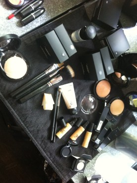 Runway makeup for Canadian Philippine Fashion Week