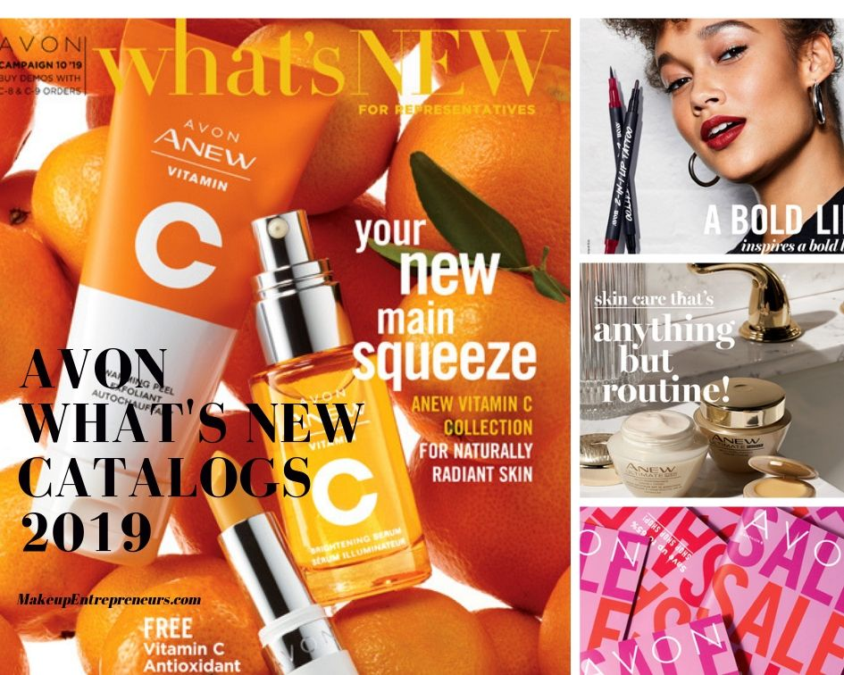 Avon What's New 2019 Catalogs