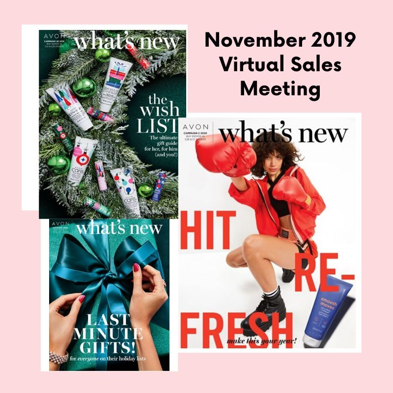 Avon November 2019 Virtual Sales Meeting