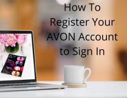 How To Register Your AVON Account to Sign In